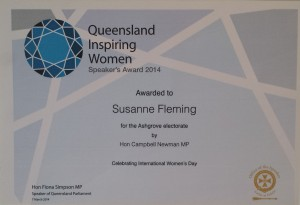 Sue Women's Day Award